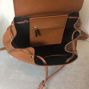 Barneys New York Bags - Barney's New York Genuine Leather Backpack